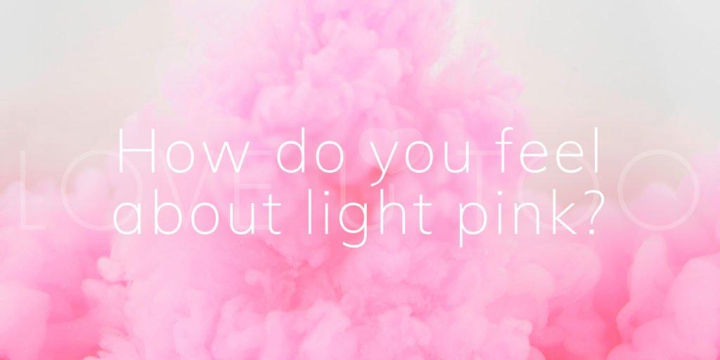 842c8e1432c5 Love U With Color  Light Pink - Love U Too
